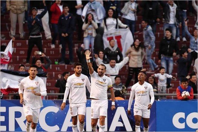 Liga de Quito debuta con sufrida victoria en la Copa Sudamericana