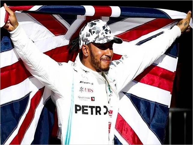 Lewis Hamilton, hexacampeón de Fórmula 1