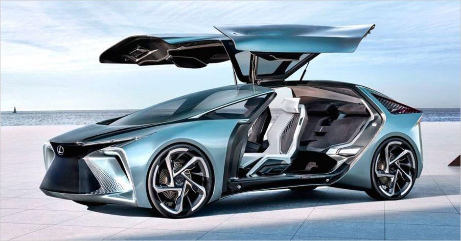 Lexus presenta nuevo modelo eléctrico con elementos de inteligencia artificial