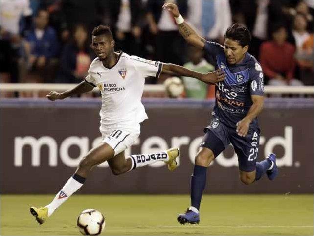 Liga de Quito vence 4 a 0 al San José de Bolivia en la Casa Blanca