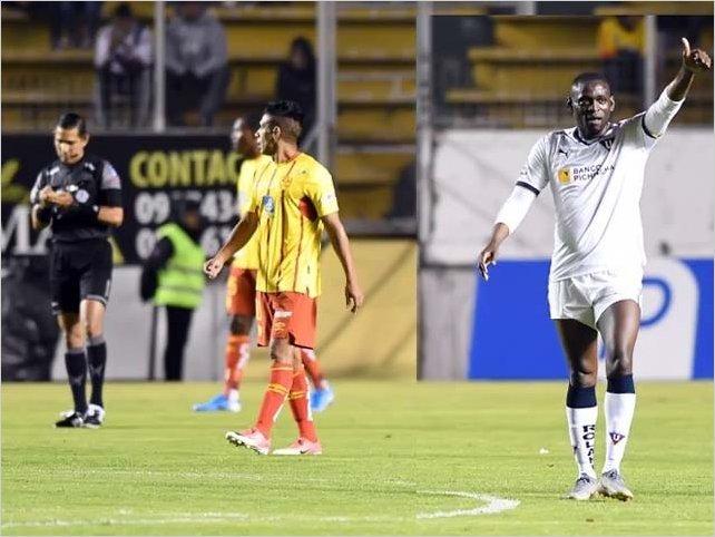 Aucas 1-3 Liga de Quito en la primera semifinal de la Liga Pro 2019