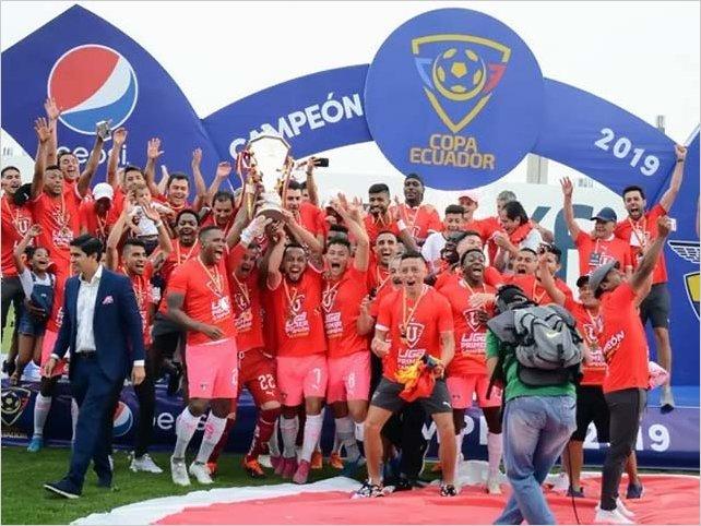 Liga de Quito, campeón de la Copa Ecuador
