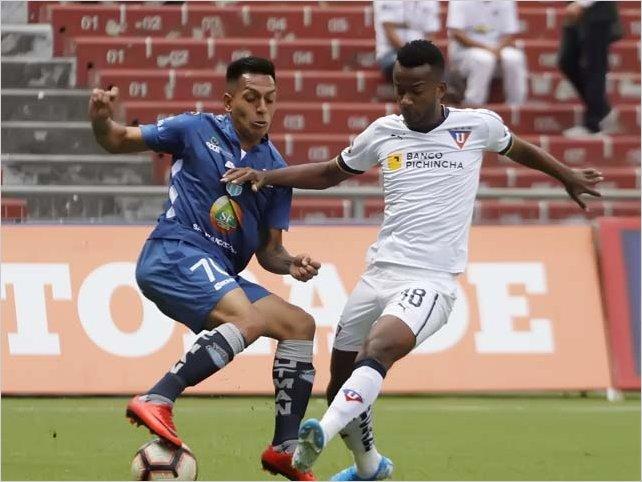 Macará empató en la Casa Blanca con Liga de Quito en la jornada 20 de la Liga Pro