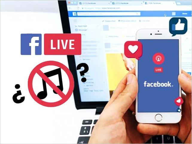Facebook prohíbe los streamings musicales a partir del 1° de octubre