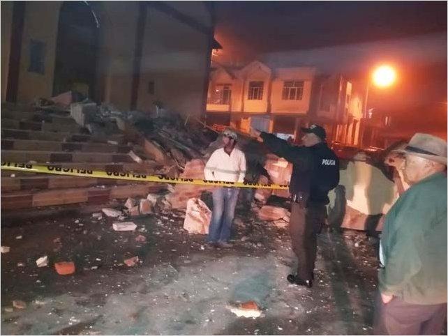 En Ecuador hay daños menores a escala nacional, no se reportan víctimas