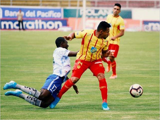 Macara empato con Aucas a cero goles en Quito