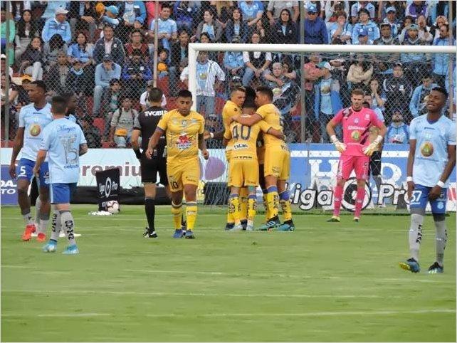 Delfín elimina al superlíder Macará y avanza a la final de la Liga Pro 2019