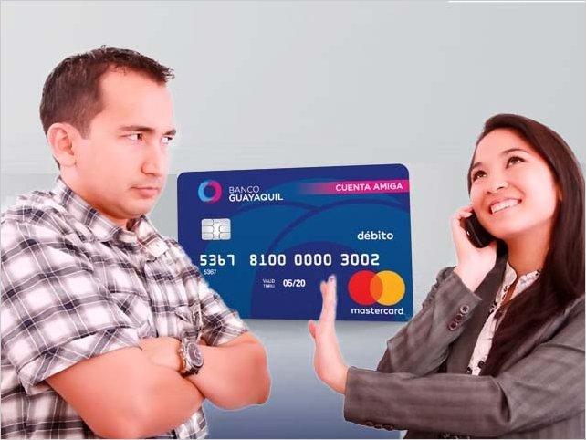 Usuarios denuncian problemas con la tarjeta de débito Mastercard del Banco Guayaquil