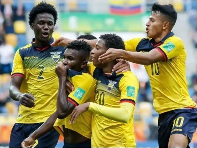 Dos jugadores de Ecuador en el Top 10 del Mundial sub 20