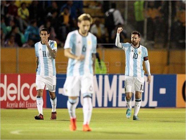 Un recital de Messi en Quito pone a Argentina en el Mundial de Rusia
