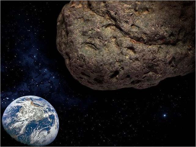 Un asteroide del tamaño de un rascacielos paso entre la Luna y tan cerca de la Tierra