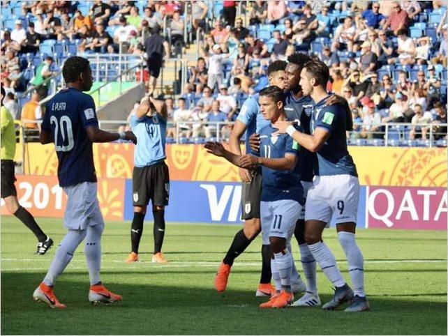 Ecuador golea a Uruguay y clasifica a cuartos de final del Mundial Sub-20