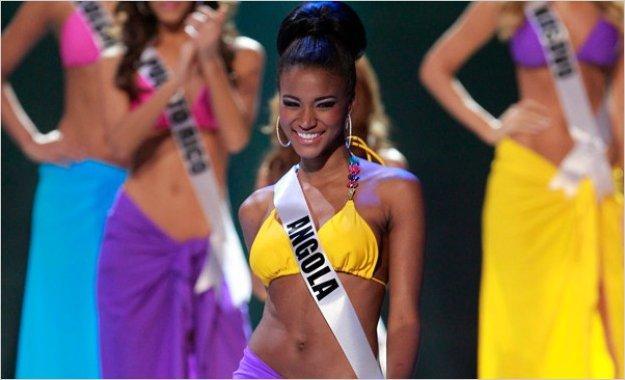 Leila Lopes Miss Angola es la flamante nueva Miss Universo 2011
