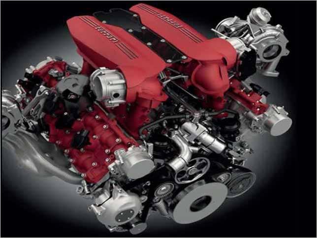 El motor 3.9 V8 biturbo de Ferrari, el mejor motor del mundo