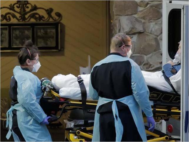 La cantidad de muertes por coronavirus en Estados Unidos superó las 3.000