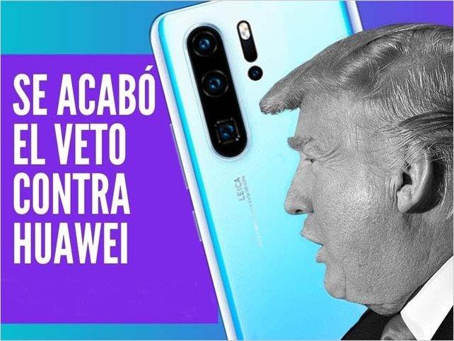Trump retira el veto que impide vender tecnología a Huawei