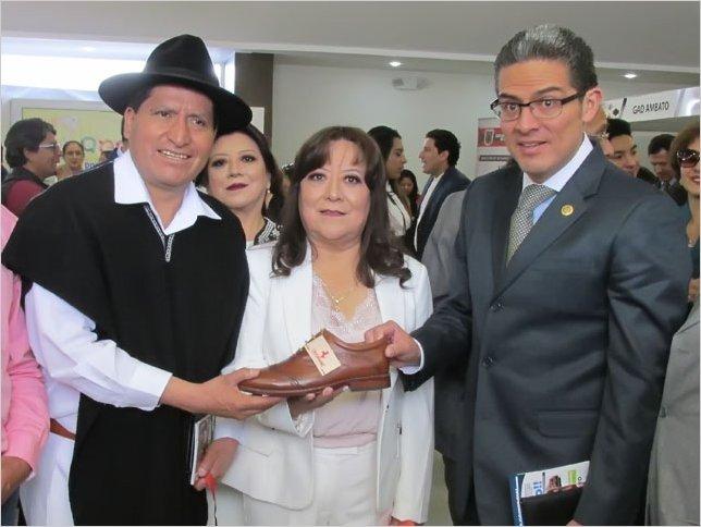 Se realizó la inauguración de la Feria Internacional del Calzado FICCE 2019 en Ambato