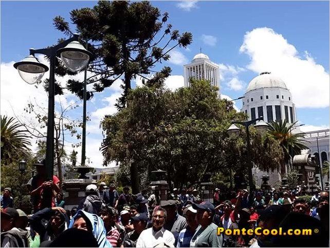 El Gremio de Transporte Urbano se une al Paro Indígena en Ecuador