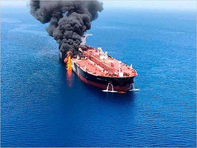 Culpan a Irán, pero la verdad en el Golfo de Omán es mucho más turbia