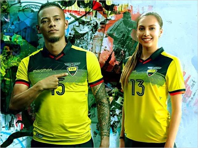 Ecuador presentó su nueva piel para la Copa América y el Mundial sub 20