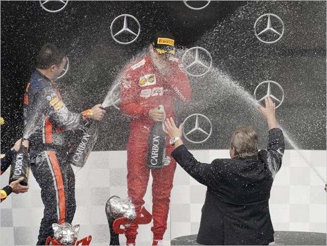 El holandés Max Verstappen (Red Bull) se impuso en el Gran Premio de Alemania de Fórmula 1