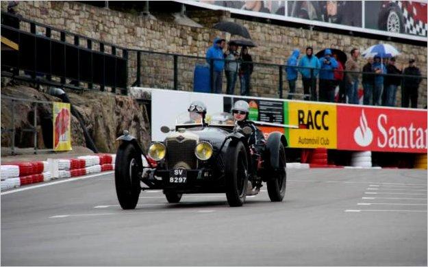 Rally 2013 Londres - Lisboa de coches clásicos