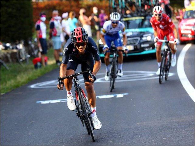 El ecuatoriano Richard Carapaz, consigue meterse en la historia del Tour De Francia, al ganar el premio