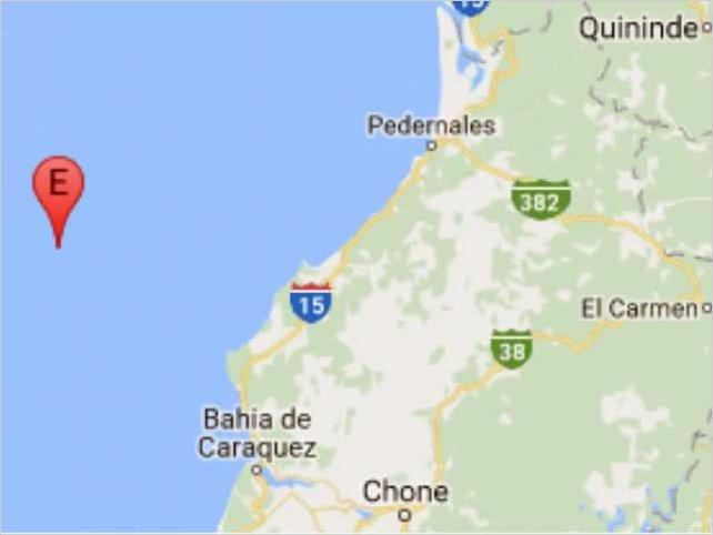 Sismo de 6,3 grados sacude la costa de Ecuador sin dejar daños