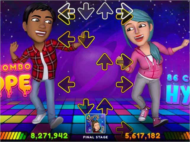 Snapchat incorpora sus avatares de Bitmoji a los videojuegos con su Bitmoji Party
