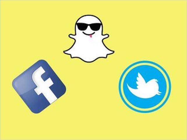 Twitter y Facebook copian a Snapchat con filtros y stickers