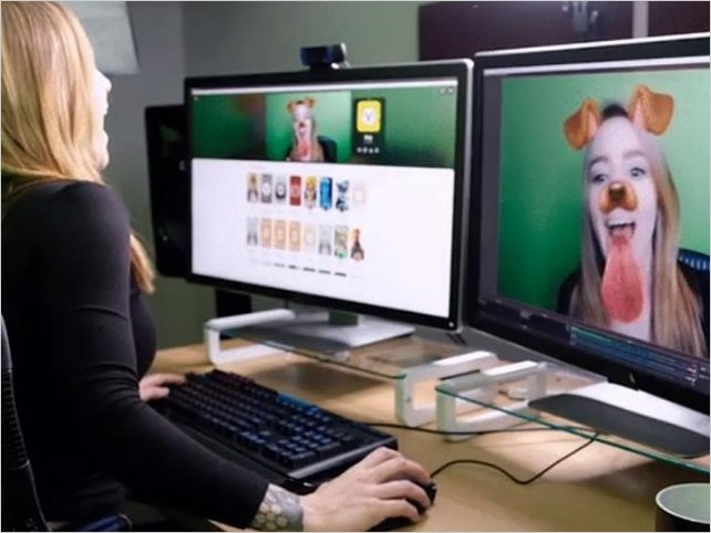 Snapchat lleva las orejitas de perro y otros filtros a tu PC