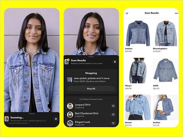 El nuevo escanear inteligente de Snapchat ya puede reconocer los objetos del mundo real