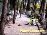 Remodelaci�n de paseo turistico sector del Parque el Sue�o en Ambato