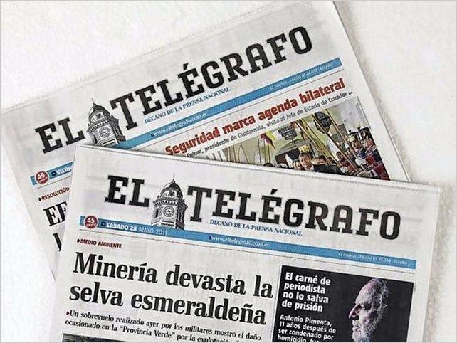 Salen a la luz supuestos casos de corrupción en el Telégrafo