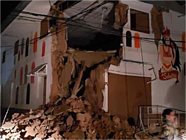 Terremoto de magnitud 8,0 sacude el norte de Perú