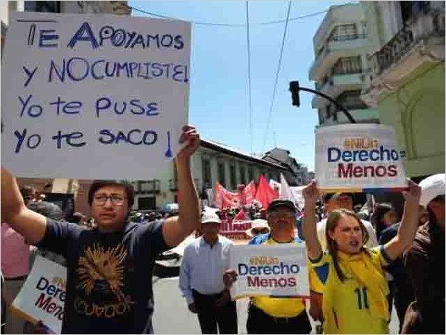 Trabajadores dicen no al FMI, no a la corrupción y no a reformas laborales