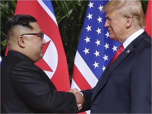 Presidente norcoreano recibe