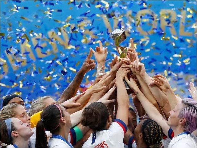 Estados Unidos venció a Holanda y son las campeonas del Mundial Femenino de Francia 2019
