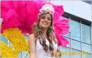 Ambato se visti� de gala con el desfile de la Fiesta de la fruta y de las flores Ambato 2014