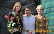 Vanesa Kattan Reina de Ambato 2014 entrego su amor y solidaridad en el d�a de la Mujer