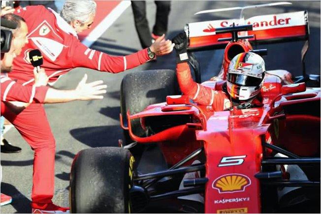 El triunfo de Sebastian Vettel en Australia tuvo un gran responsable
