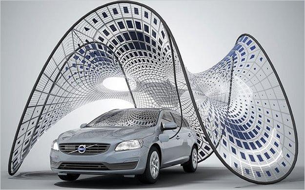 Volvo tiene la solución para recargar los autos eléctricos?